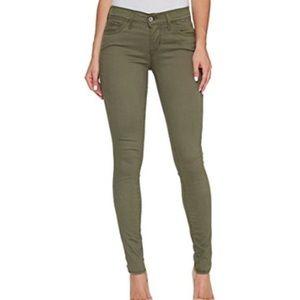 Levis 710 Super Skinny Jeans Soft Olive Green